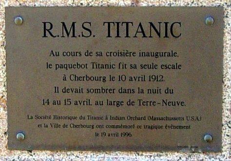 Le Mémorial Titanic de Cherbourg