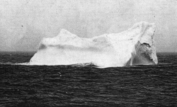 Les caractéristiques de l'iceberg meurtrier