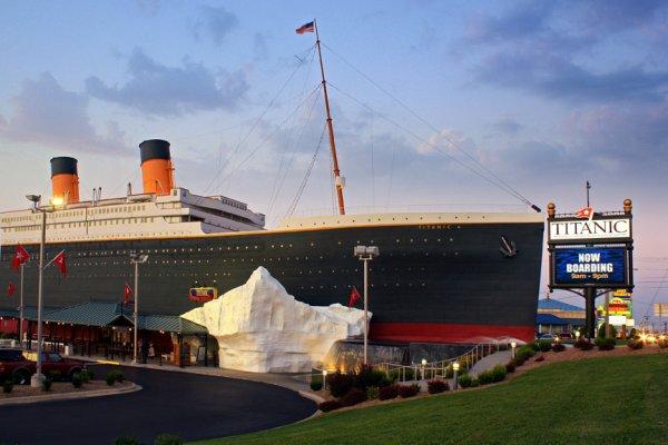 Les musées Titanic de Branson et de Pigeon Forge