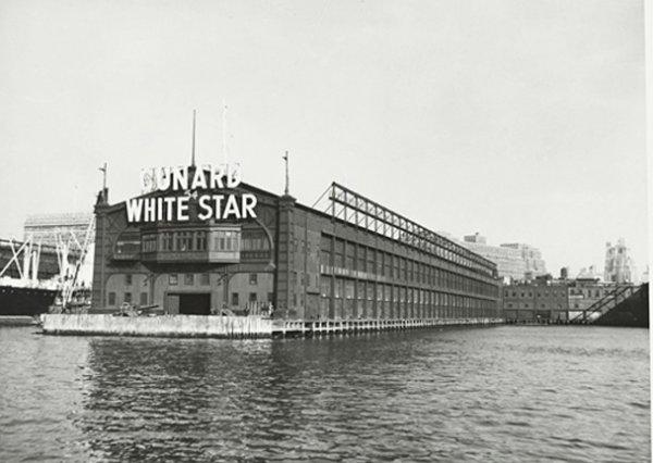 La Pier 54 de la Cunard - White Star