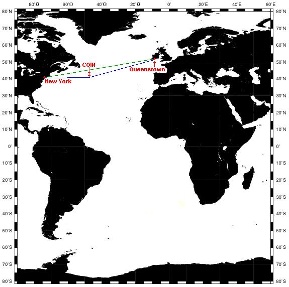 Le coin de l'Atlantique Nord