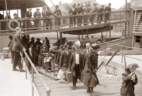 Venir en Amérique: l'histoire d'immigrants
