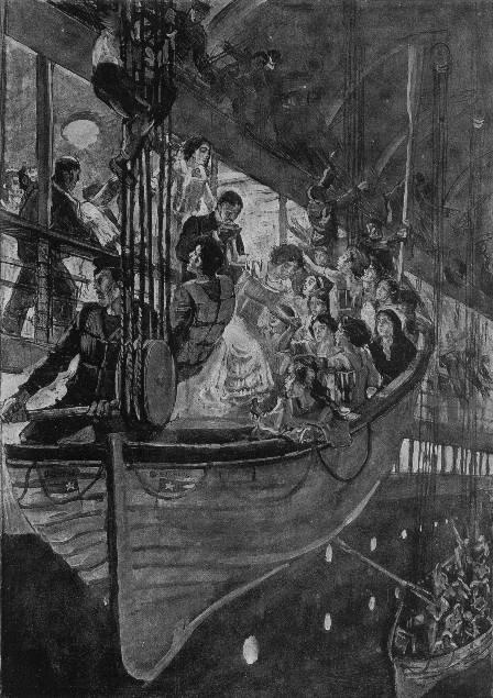 L'embarquement et le lancement des canots de sauvetage