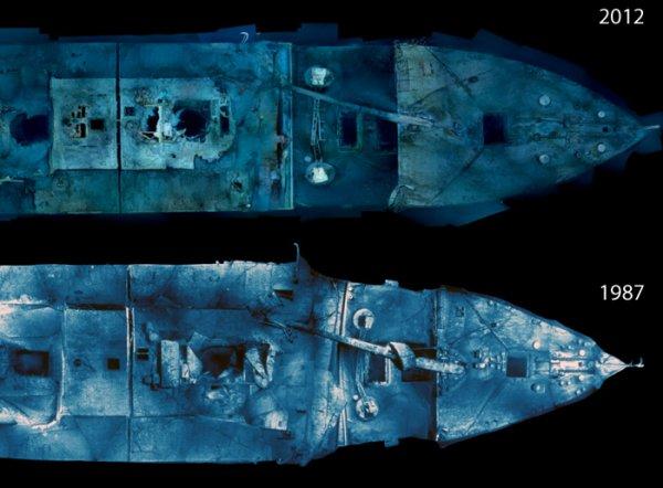 La disparition de l 39 pave du titanic le titanic en 1912 for Titanic epave interieur