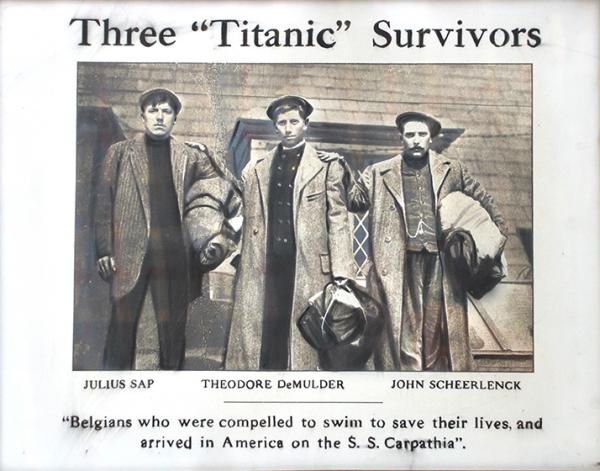 Les belges du Titanic