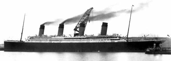 Différences entre l'Olympic et le Titanic