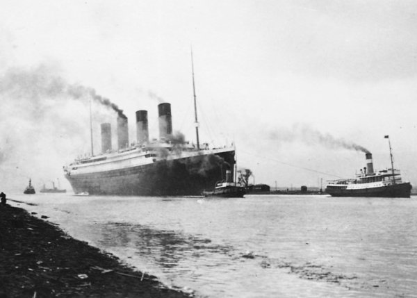 Les essais du Titanic