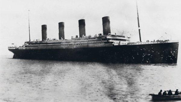 Le voyage inaugural du Titanic