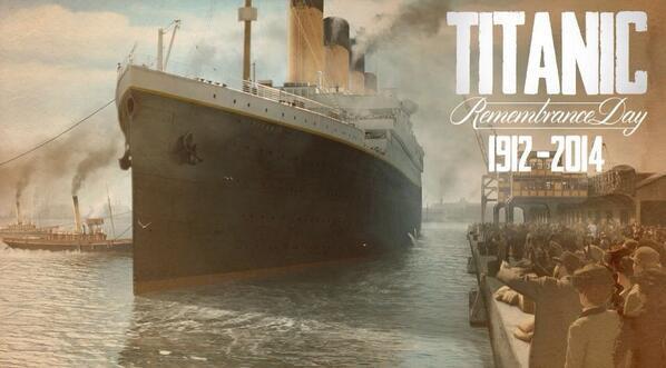 102ème anniversaire du naufrage du Titanic