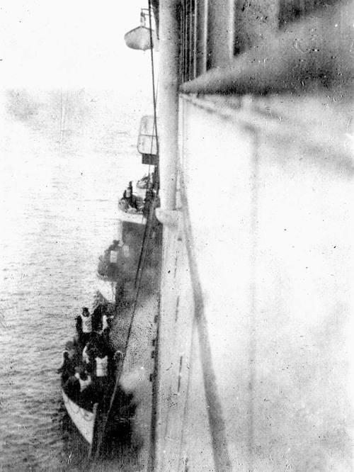 Chronologie du Titanic