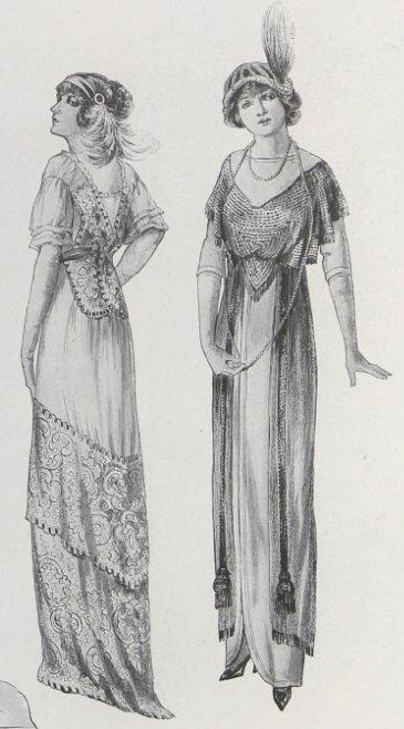 La mode en 1912