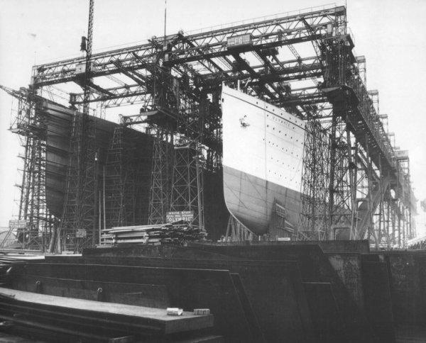 La construction des paquebots aux chantiers navals Harland & Wolff