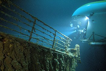 Plonger sur l'épave du Titanic