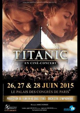Ciné-concert Titanic