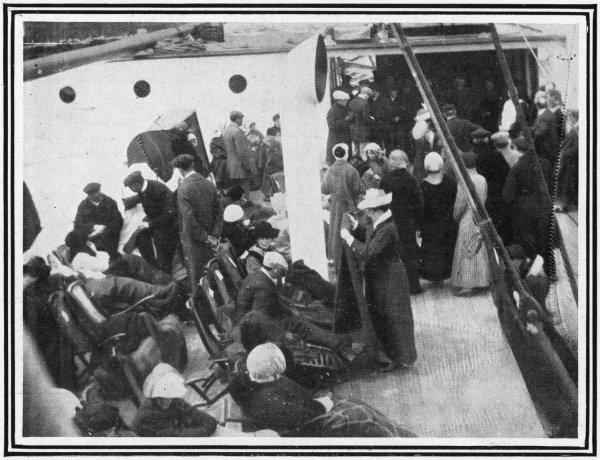 Le Carpathia, le navire de veuves