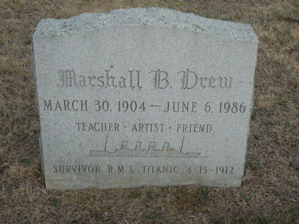 Témoignage de Marshall Drew, passager de Deuxième Classe