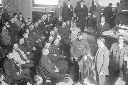 L'organisation du personnel à bord du Titanic