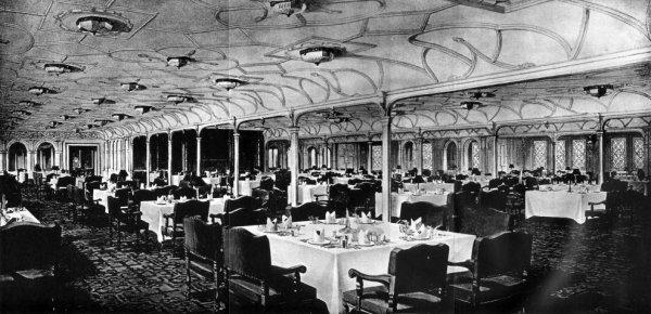 La salle à manger des Premières Classes