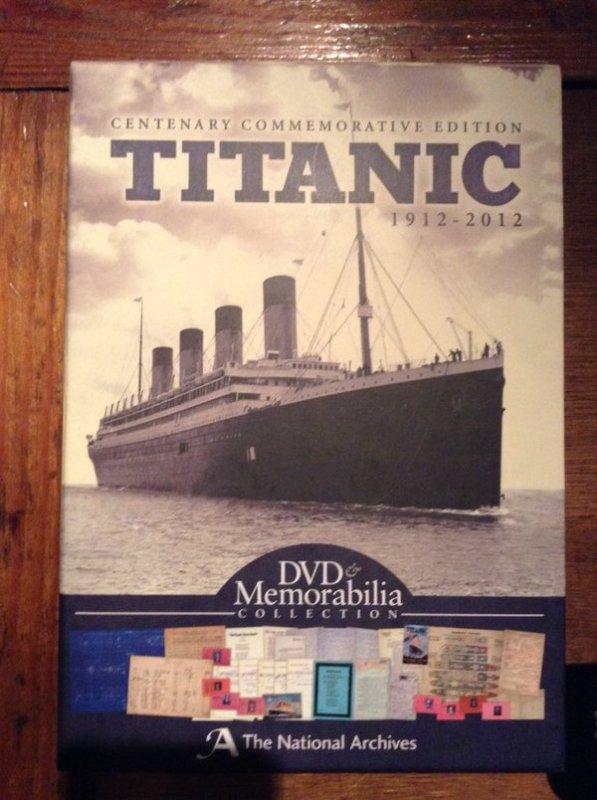 Coffret Titanic