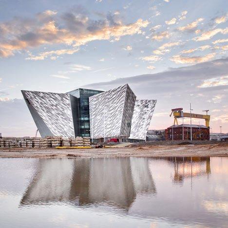 Le Titanic Quarter et ses représentations en rapport avec le Titanic
