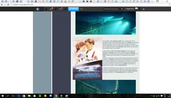 Pub pour un blog Titanic: MakeIt-Count