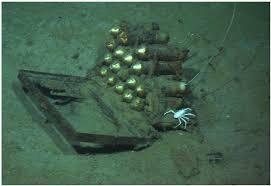 Les fusées de détresse du Titanic