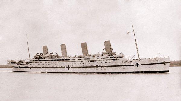100 ans du naufrage du Britannic