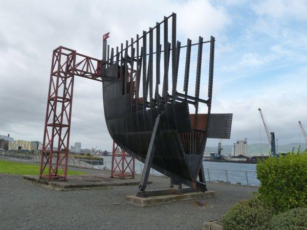 L'art public et le Titanic