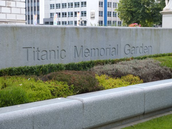 Le Titanic Memorial Garden