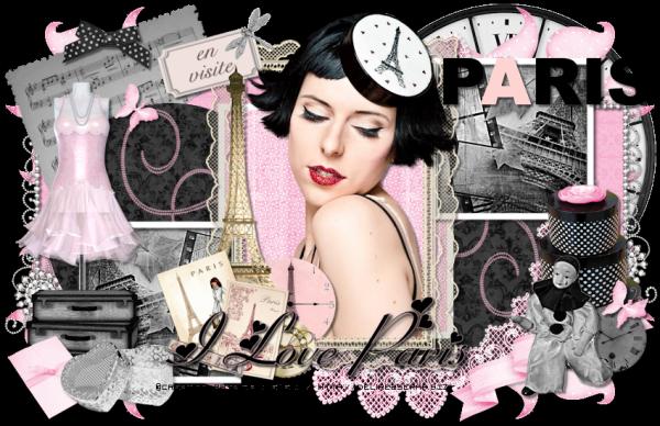 Tuto 423 - En visite à Paris