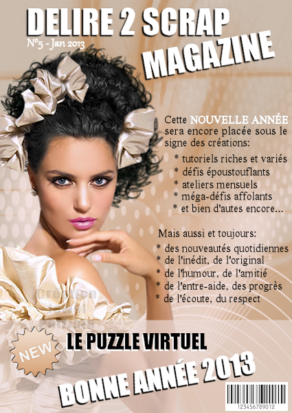 Délire 2 scrap Magazine.