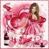 Créa avec un Kit Exclusif pour mon forum  & MonTuto FTU - Love Me