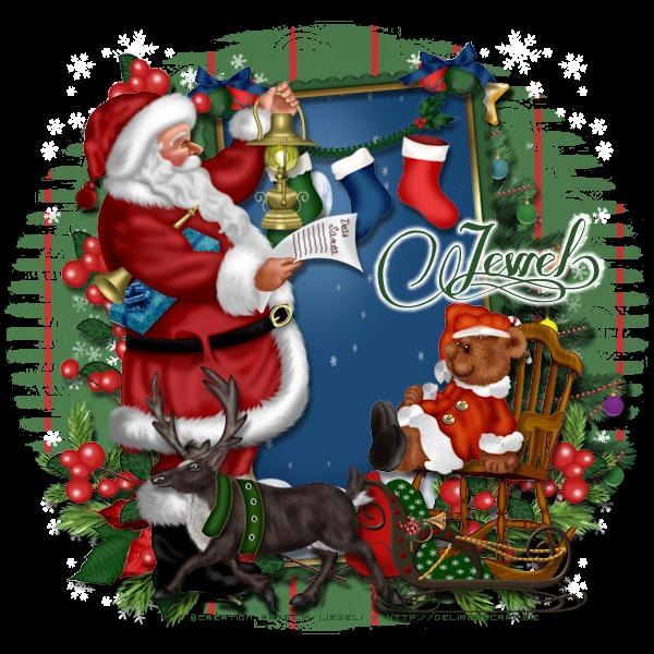 Tuto 750 - Dear Santa