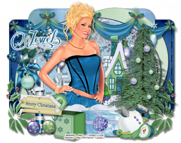 Tuto 749 - Christmas Blue