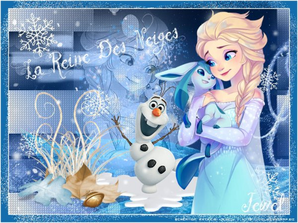 Tuto 760 - La Reine des Neiges