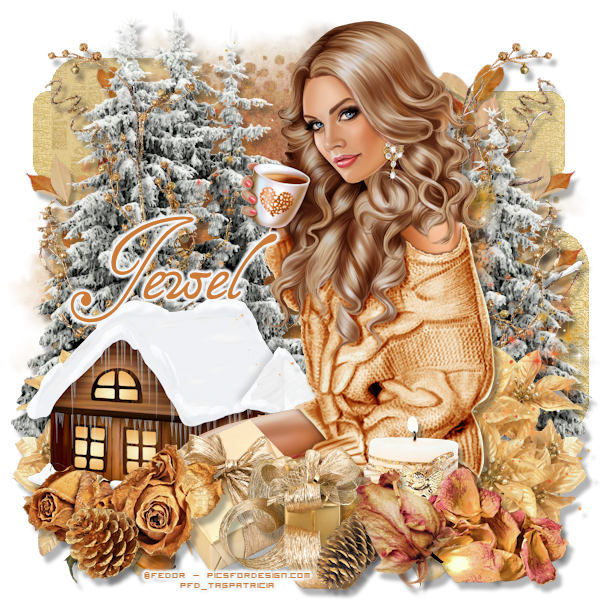 Tuto 908 - Snowy Cottage