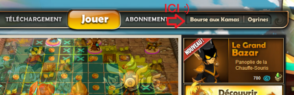 Premier Article ! S'abonner via le site Dofus !