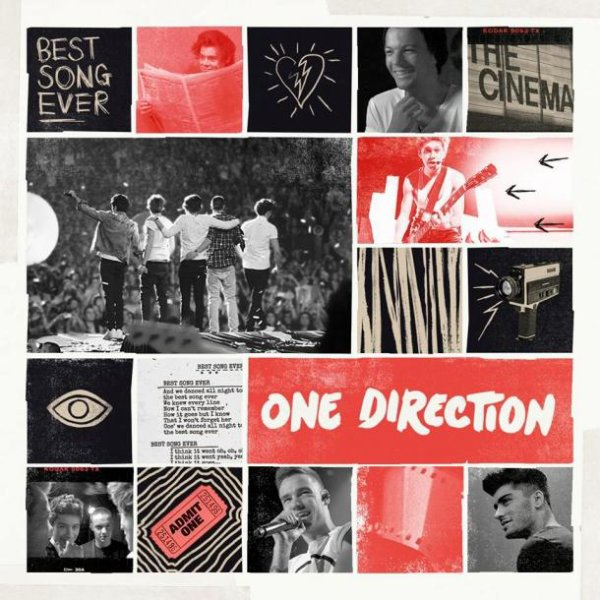One Direction : Best Song Ever, la pochette enfin dévoilée !