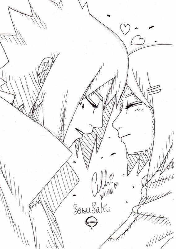 ♥ Sasusaku ♥ (désolé de l'énorme absence)