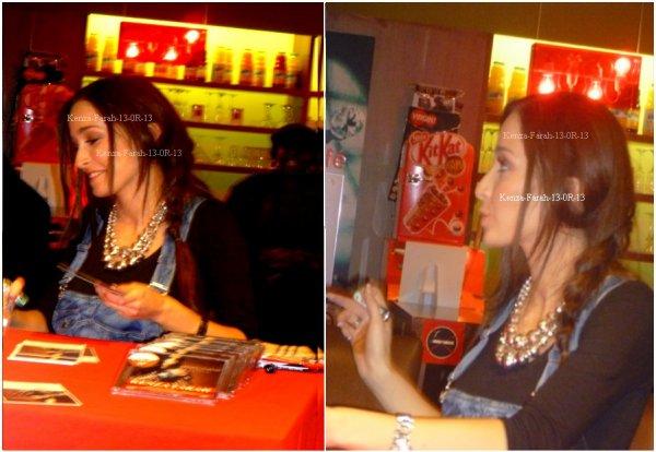 Découvre les photos de Kenza Farah en séance de dédicasse a Belle-Epine le 24.11.2010 ....... Clique ici et vote pour Kenza