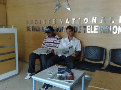 Commissaire et ackro à la radio S.n.r.t