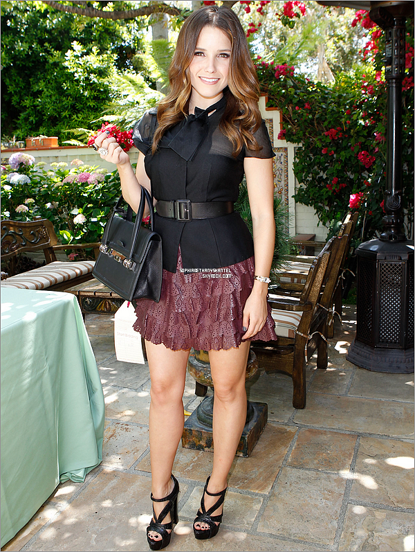 ----------------------------------------------------------------------------------------------------------------------24.05.2011 / Sophia Bush At P.S. ARTS Bag Lunch ----------------------------------------------------------------------------------------------------------------------