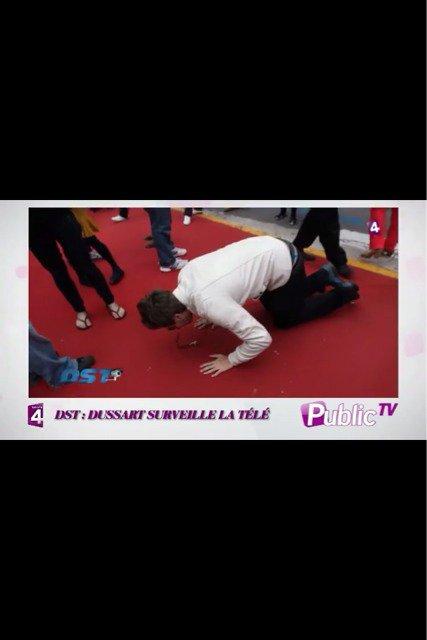 ma prière sur le tapis rouge à cannes filmé par France 4