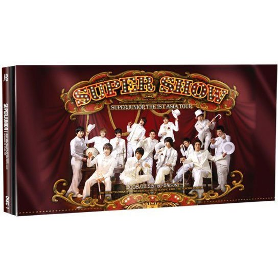 Super Junior - SUPER SHOW DVD