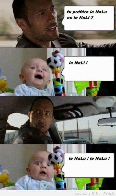 LE NALI VS LE NALU