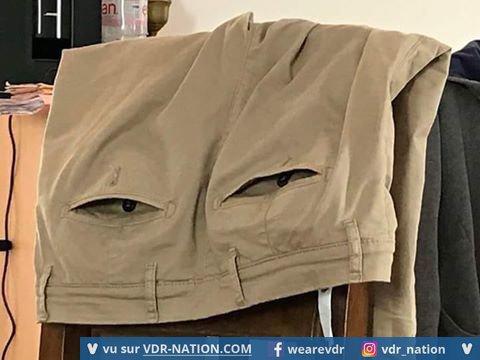 méfiez vous des pantalon