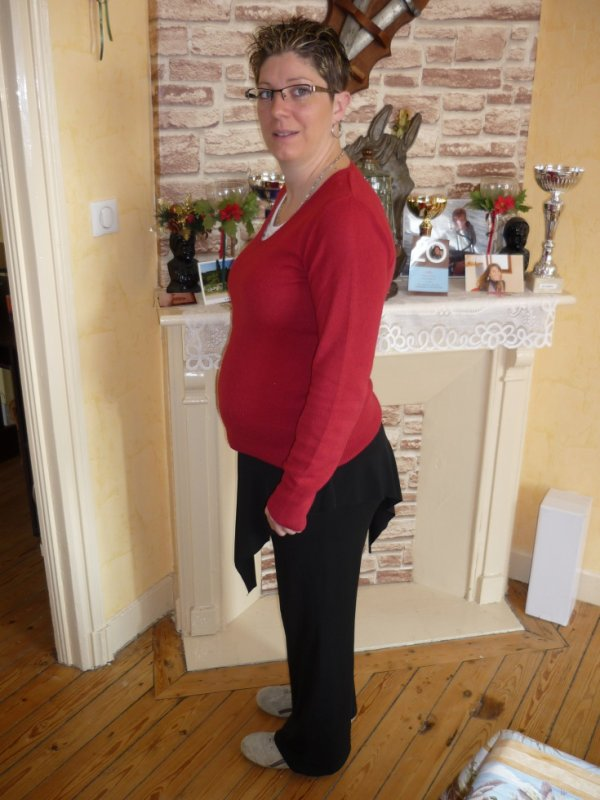 moi a 6 mois de grossesse
