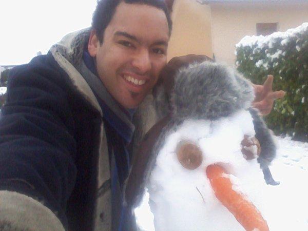 mon bonhomme de neige