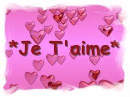 ♥ Je t'aime ♥