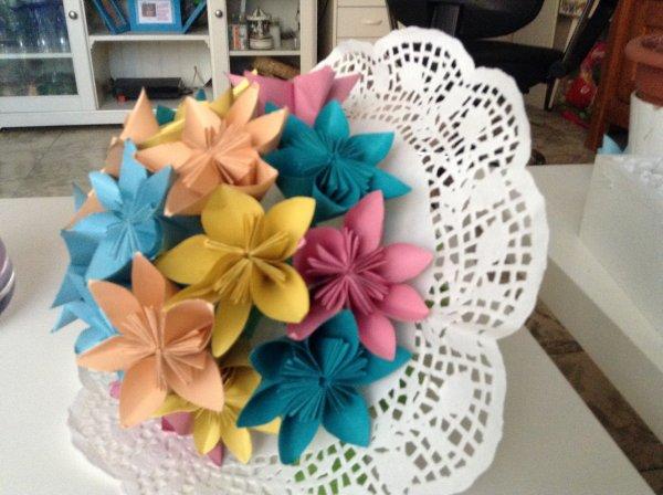 Un bouquet style ancien